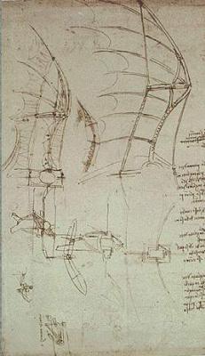 Леонардо да Винчи. Парусник