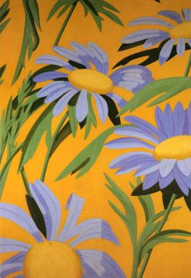 Alex Katz. Flowers