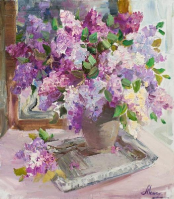 Angela Moiseenko. Lilac