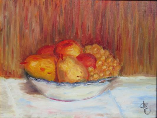 Дмитрий Еременко. Still life fruit