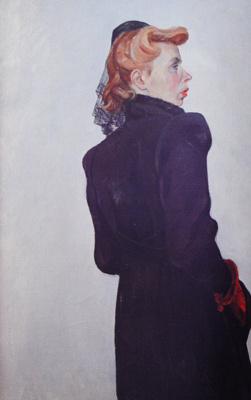 Alexander Alexandrovich Deineka. Female portrait