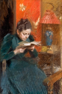 Anders Zorn. The artist's wife