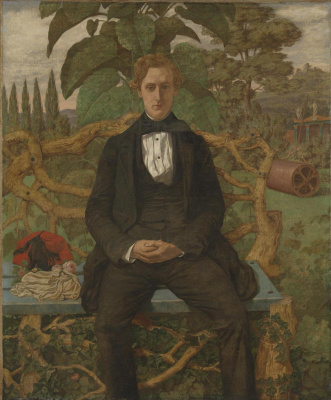 Ричард Дадд. Portrait of a young man