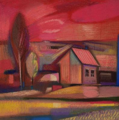 Rumyana Vnukova. Sunset