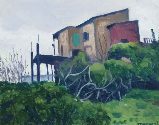 Albert Marquet. House in Monplezira