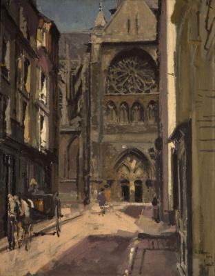Walter Charles Sickert. Peck Street (Dieppe)