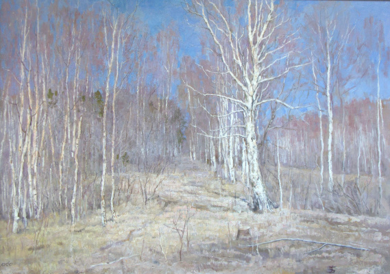 Boris Petrovich Zakharov. Light early April.