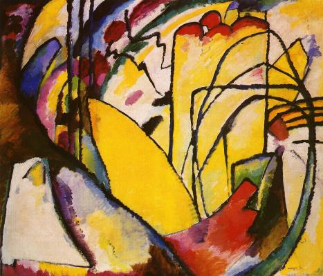 Wassily Kandinsky. Improvisation X