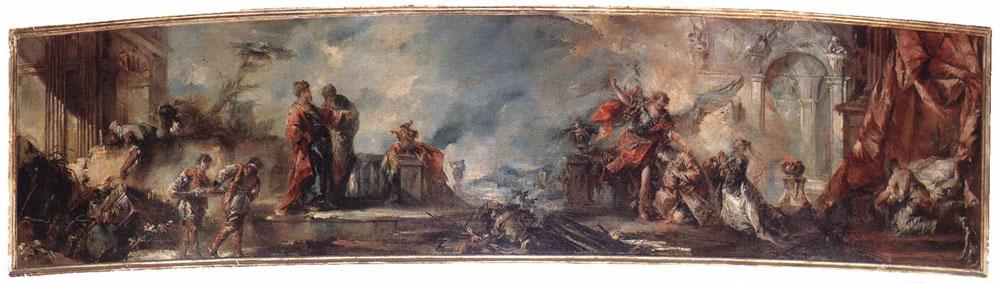 Giovanni Antonio Guardi. The Marriage Of Tobias