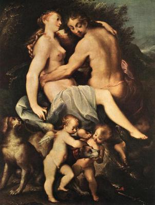 Йозеф Хейнц. Венера и Адонис
