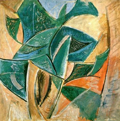 Пабло Пикассо. Пейзаж с деревом