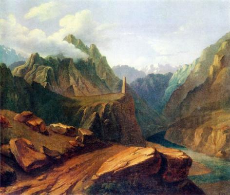 Mikhail Yurjevich Lermontov. Tower of Sioni
