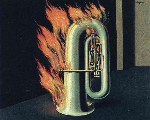 Рене Магритт. Открытие огня