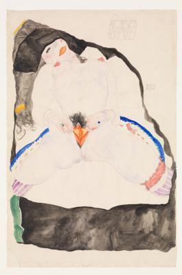 Egon Schiele. Observed in a Dream
