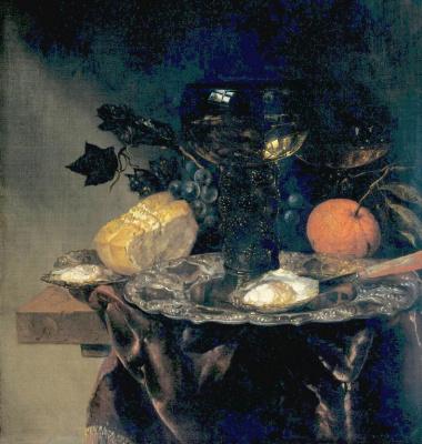 Абрахам Ван Беуерен. Натюрморт