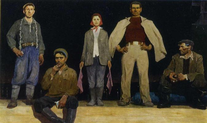 Виктор Ефимович Попков. Строители Братска