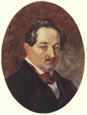 Taras Grigorievich Shevchenko. Portrait Of Platon