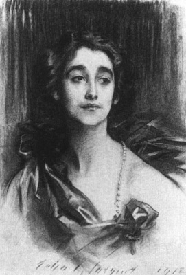 John Singer Sargent. Miss Sybil Sassoon