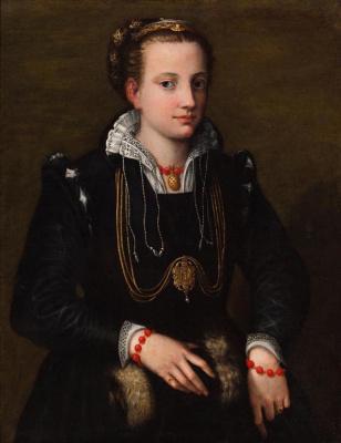 Sofonisba Anguissola. Minerva, sister of the artist