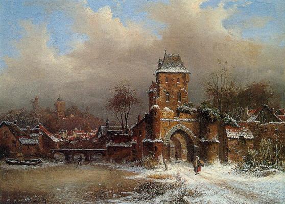 Антон Биестер. Зима