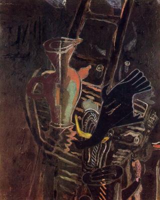 Жорж Брак. Натюрморт с лестницей