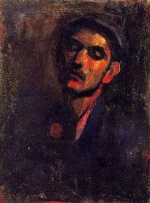 Мануэль Гиль. Мужской портрет