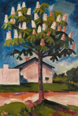 Каштановое дерево