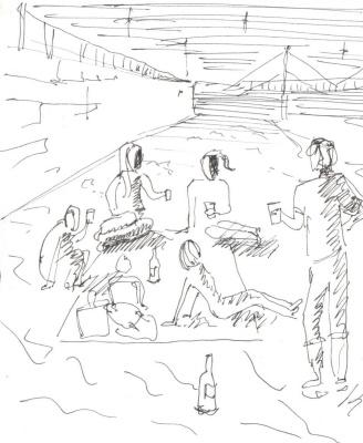 Zonk197. Вино на берегу реки