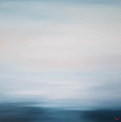 Larissa Uvarova. Картина морской пейзаж Так чисты мои воспоминания