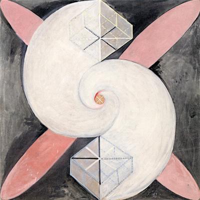 """Hilma af Klint. Series """"Swan"""", №21"""