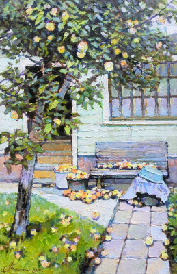 George Lapchinsky. Apple year