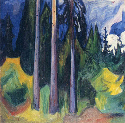 Edvard Munch. Forest