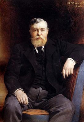 Леон Жозеф Флорантен Бонна. Портрет князя В.Н. Тенишева