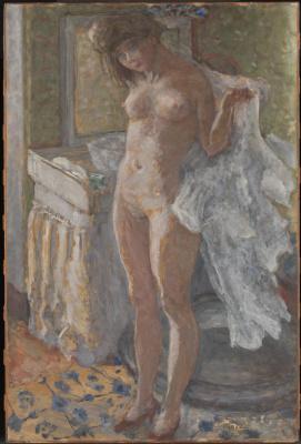 Pierre Bonnard. In the bathroom