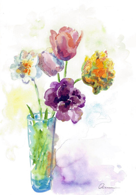 Ekaterina Viktorovna Osipovich. May flowers