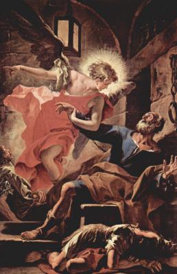 Себастьяно Риччи. Освобождение апостола Петра ангелом