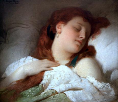 Шандор Лицен-Майер. Спящая женщина