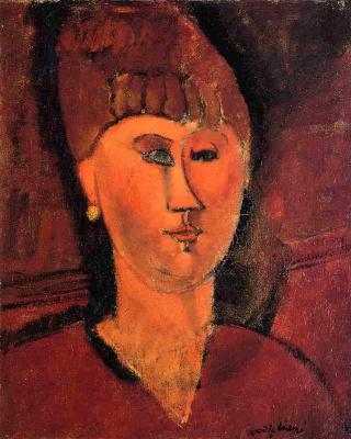 Амедео Модильяни. Портрет русской женщины с рыжими волосами