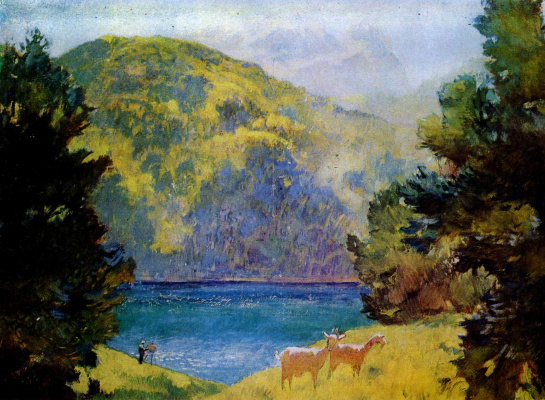 Evgeniy Evgenievich Lansere. Lake Gel-Gel