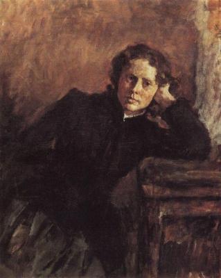 Valentin Aleksandrovich Serov. Portrait Of O. F. Trubnikova