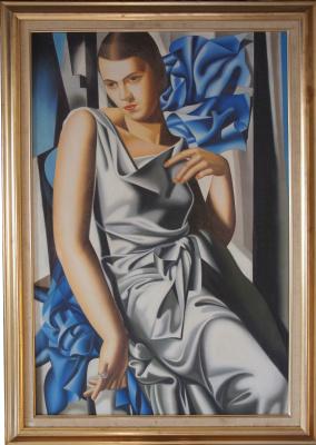 Неизвестный  художник. Портрет Мадам М (Лемпицка)