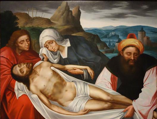 Quentin Masseys. Pieta (Lamentation of Christ)