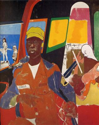 Ronald China. Negro