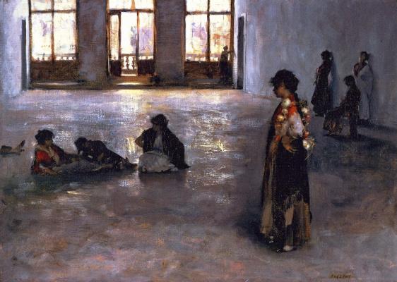Джон Сингер Сарджент. Венецианские женщины в Палаццо Редзонико
