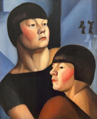 Тамара Лемпицка. Двойня. 1924