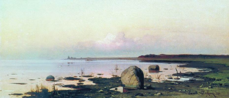 Julius Klever. The Environs Of St. Petersburg. Gulf of Finland