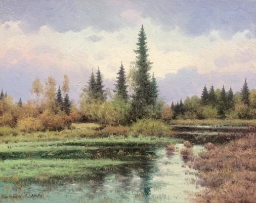 Vasily Ivanovich Gribennikov. Forest River