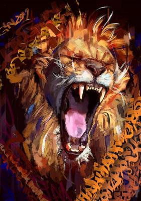 Sergey Galanter. Lion