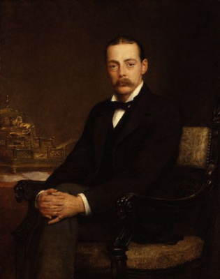 Edwin Longsden Long. Lord Randolph Churchill