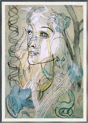 Риденс Пикабиа. Женский портрет